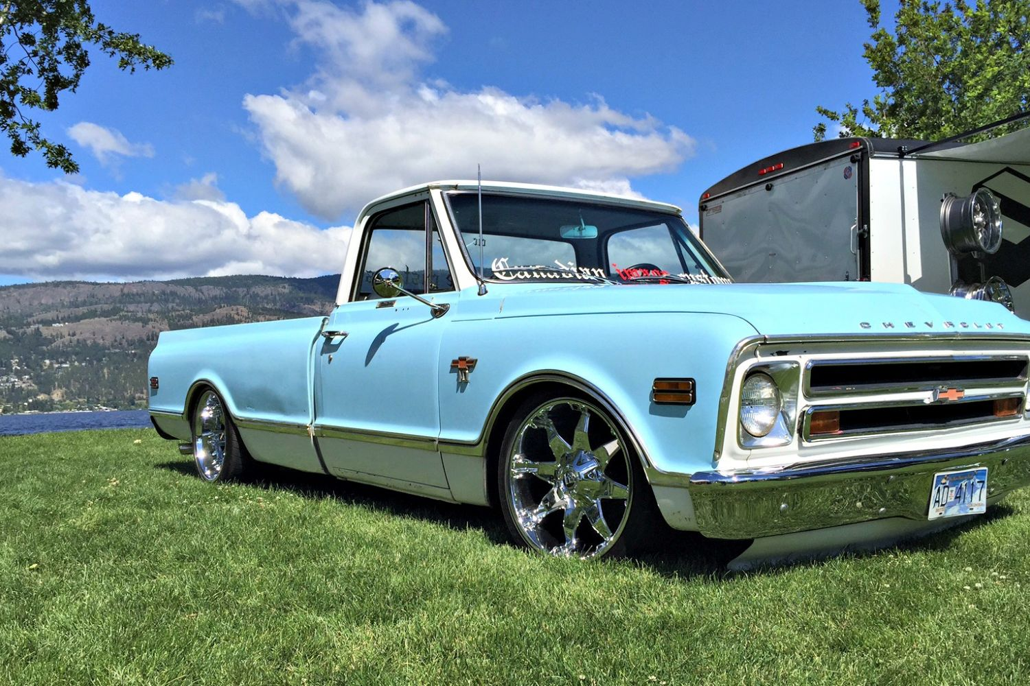 1968 Chevrolet C10 Lowrider Canadian Image Customs Chevy Lifted